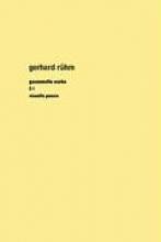Rühm, Gerhard Gesammelte Werke 2/1. Gesamtausgabe