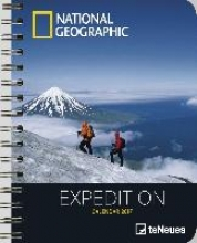 National Geographic: Expedition 2017 Buchkalender Deluxe