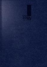 Buchkalender TimeCenter 2017 dunkelblau. 2 Seiten = 1 Woche, 148 x 210 mm