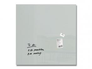 , Glasmagneetbord Artverum grijs 1000x1000x18mm incl. 2       magneten