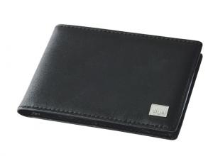 visitekaartmap Sigel Torino leer zwart 90x58mm voor 40      kaartjes