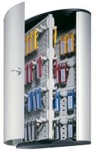 , Sleutelkast Durable 1955 aluminium 72haken 302x400x118mm