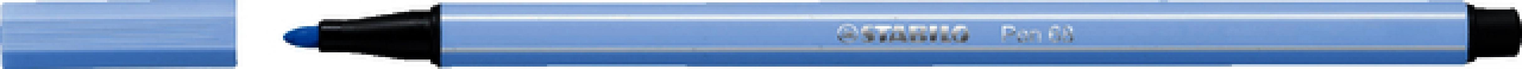 , Viltstift STABILO Pen 68/11 ijs blauw