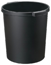 , Papierbak Jalema Re-Solution 15liter met griprand zwart
