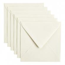 , Envelop Papicolor 140x140mm Anjerwit