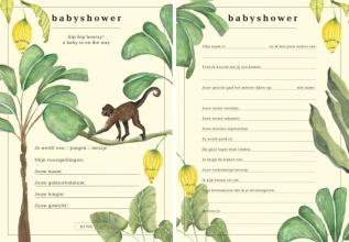 , &INK Babyshower Invulkaarten - 15 stuks - A5 Auteur: A-Journal