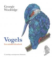 Georgie  Woolridge Vogels, een mindful kleurboek