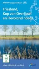 Fietsknooppuntkaart Friesland, Kop van Overijssel en Flevoland noord