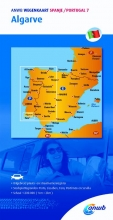 ANWB , ANWB wegenkaart Spanje/Portugal 7 . Algarve