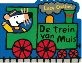 Lucy  Cousins De trein van Muis