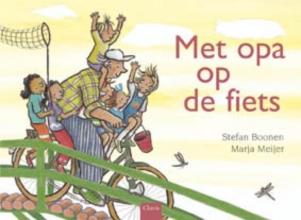 Stefan  Boonen Met opa op de fiets
