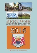 Rinus  Willemsen Zeeuwse spreukenkalender  2016