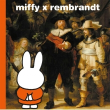 Dick  Bruna miffy x rembrandt