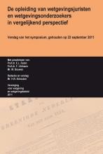E.L.  Rubin, Felix  Uhlmann, M.Tj.  Bouwes, De opleiding van wetgevingsjuristen en wetgevingsonderzoekers in vergelijkend perspectief