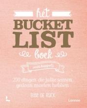 Elise De Rijck , Het Bucketlist boek voor koppels