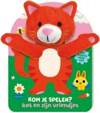 ImageBooks Factory , Handpopboek Kom je Spelen? - Kat