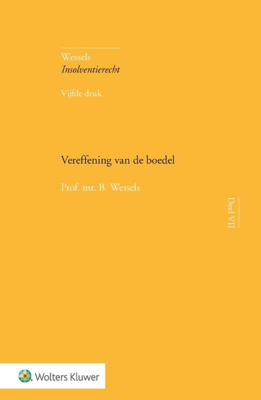 B. Wessels,Vereffening van de boedel