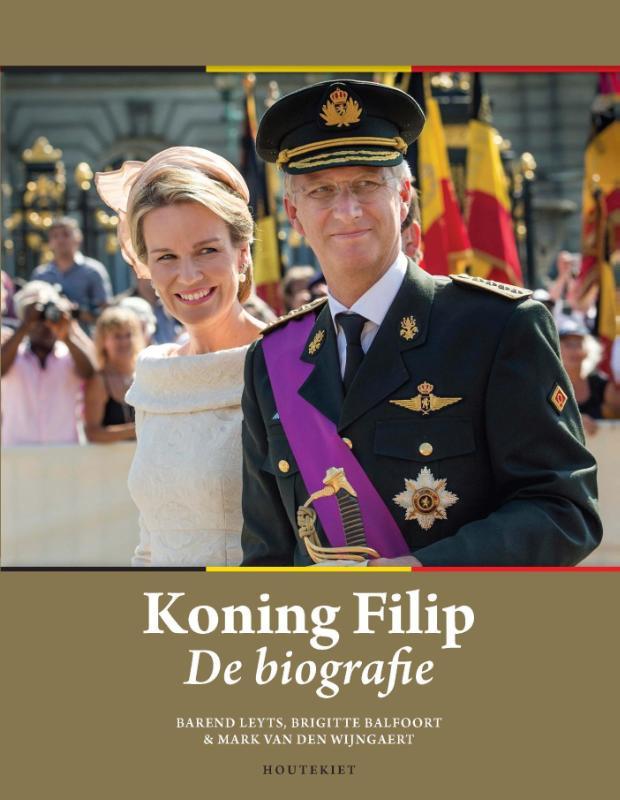 Barend Leyts, Brigitte Balfoort, Mark van den Wijngaert,Koning Filip