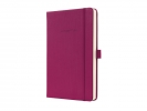 ,notitieboek Sigel Conceptum Pure hardcover A5 Wild Pink     geruit