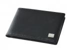 ,visitekaartmap Sigel Torino leer zwart 90x58mm voor 40      kaartjes