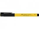 Fc-167407 ,Faber Castell Tekenstift Pitt Artist Pen Brush Cadmium Yellow 107