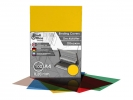 ,schutbladen ProfiOffice A4 200 micron 100 stuks transparant geel