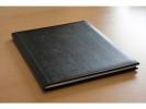 ,<b>condoleance album Kangaro 26x21cm zwart</b>
