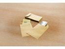 ,loonzakje Raadhuis 95x145mm bruin doos a 1000 stuks