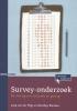 Joop van der Pligt, Matthijs  Blankers,Survey-onderzoek