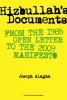 <b>Joseph Alagha</b>,Hizbullah's Documents