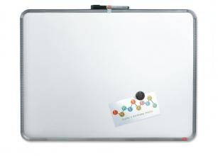 , Whiteboard Nobo Slim Line 43x58cm zilver