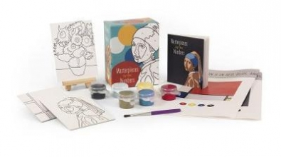 Miniture Editions Masterpieces by the Numbers
