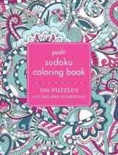 Posh Sudoku Adult Coloring Book