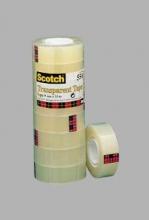 , Plakband Scotch 550 19mmx33m transparant