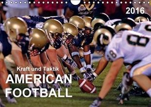 Roder, Peter Kraft und Taktik - American Football (Wandkalender 2016 DIN A4 quer)