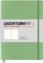 Lt363921 , Leuchtturm notitieboek master slim a4 blanco sage lichtgroen