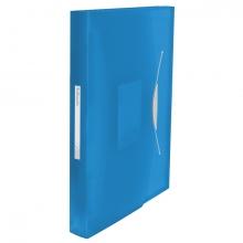 , Projectmap Esselte Vivida PP 6-vaks blauw