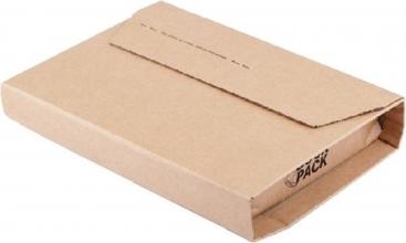 , Wikkelverpakking CleverPack ringb +zelfkl strip bruin 25stuk