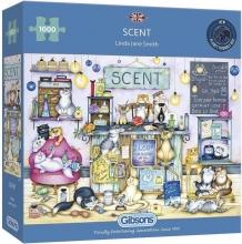 Gib-g8287 , Puzzel scent -gibsons -1000 stuks