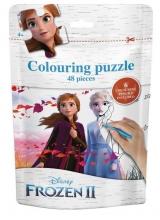 , Frozen II  Puzzel bag  (Anna en Elza)