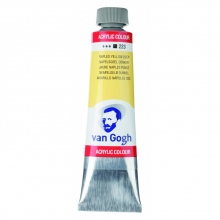 , Talens van gogh acrylverf tube 40 ml napels geel donker 223