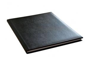 , condoleance album Kangaro 26x21cm zwart