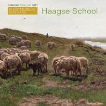 , Maandkalender 2021 haagsche school 30x30
