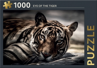 , Eye of the tiger  - puzzel 1000 stukjes