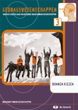 Gedragswetenschappen 3 (go) - Kunnen Kiezen - Leerwerkboek