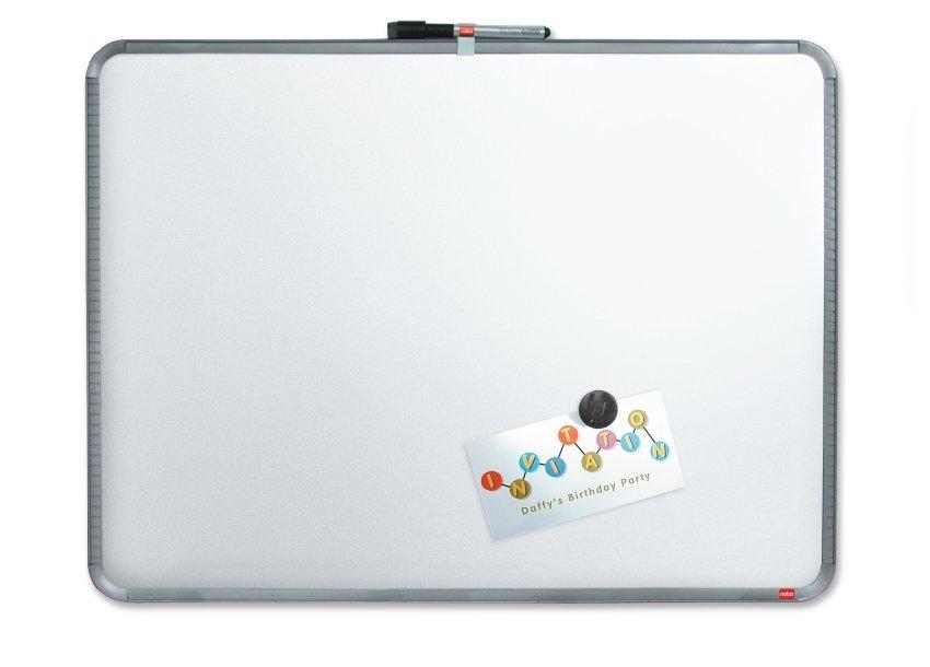 ,Whiteboard Nobo Slim Line 43x58cm zilver