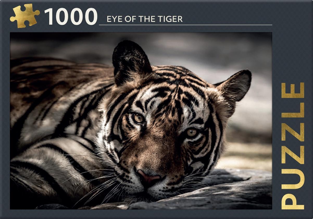 ,Eye of the tiger - puzzel 1000 stukjes