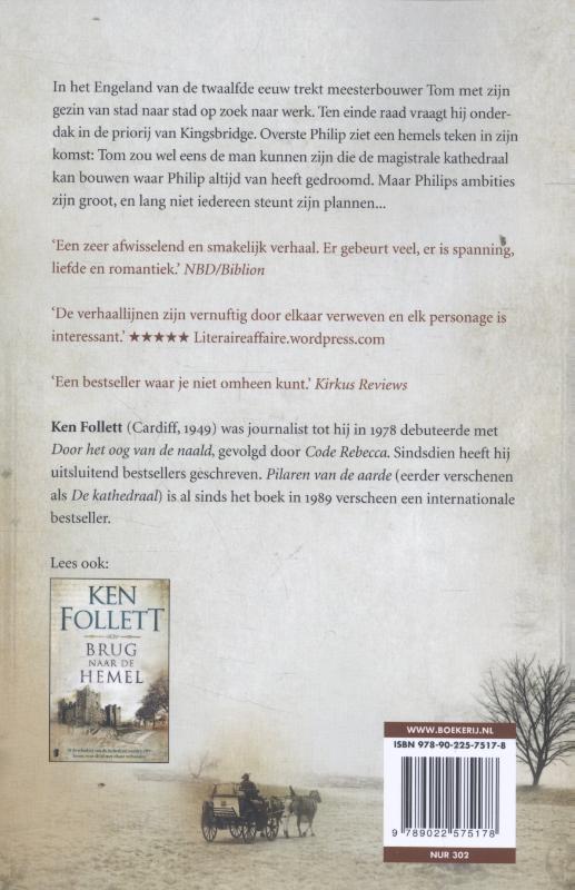 Ken Follett,Pilaren van de aarde