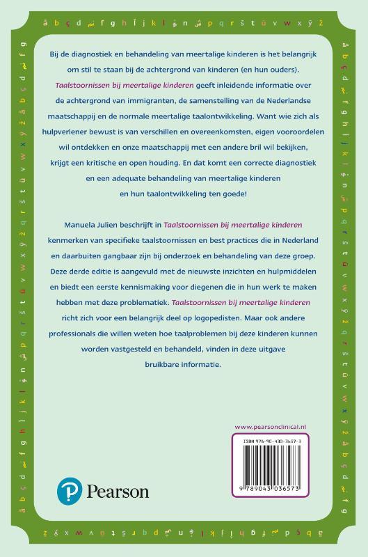 Manuela Julien,Taalstoornissen bij meertalige kinderen