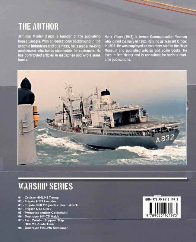 Jantinus Mulder, Henk Visser,Fast combat support ship HNLMS Zuiderkruis